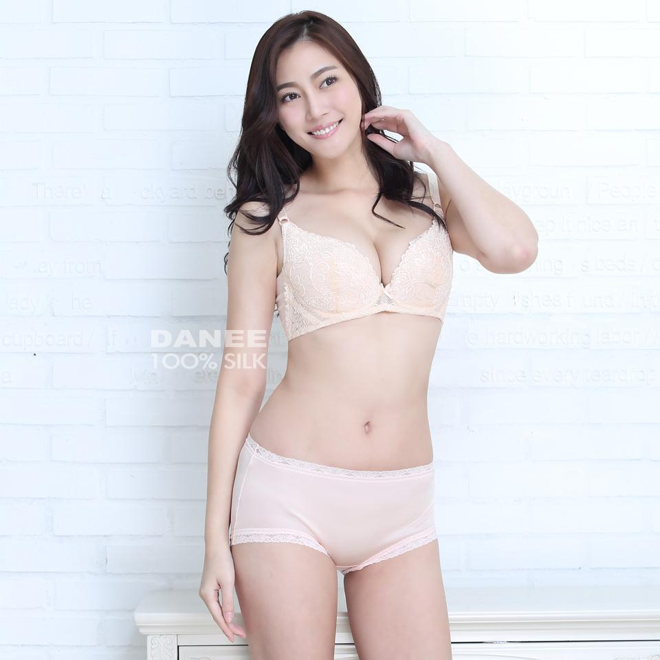 純蠶絲,42針,三角內褲,蠶絲內褲,中腰內褲,高腰內褲,三角褲,粉色內褲