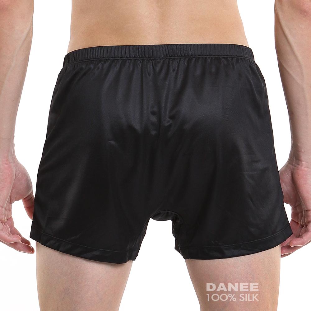純蠶絲,蠶絲內褲,平口內褲,男內褲,四角褲