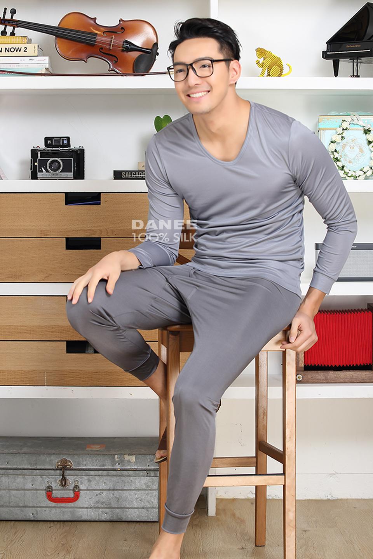 純蠶絲,蠶絲衛生衣,長袖衛生衣,保暖衛生衣