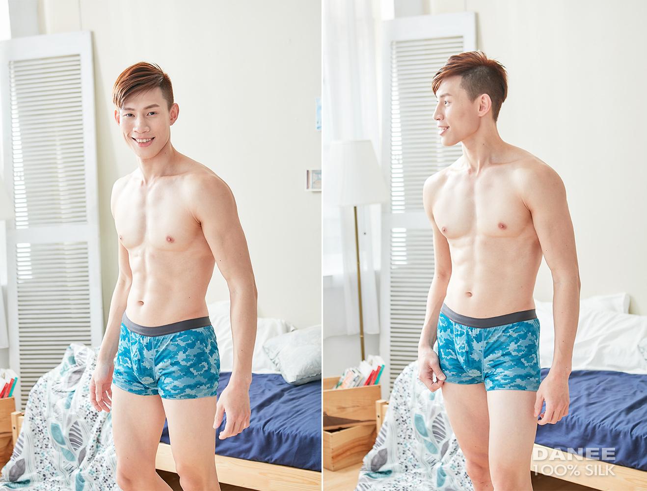 蠶絲內褲,男四角褲