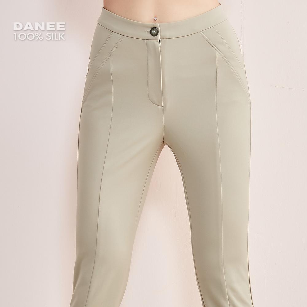 蠶絲長褲,蠶絲七分褲,PK布