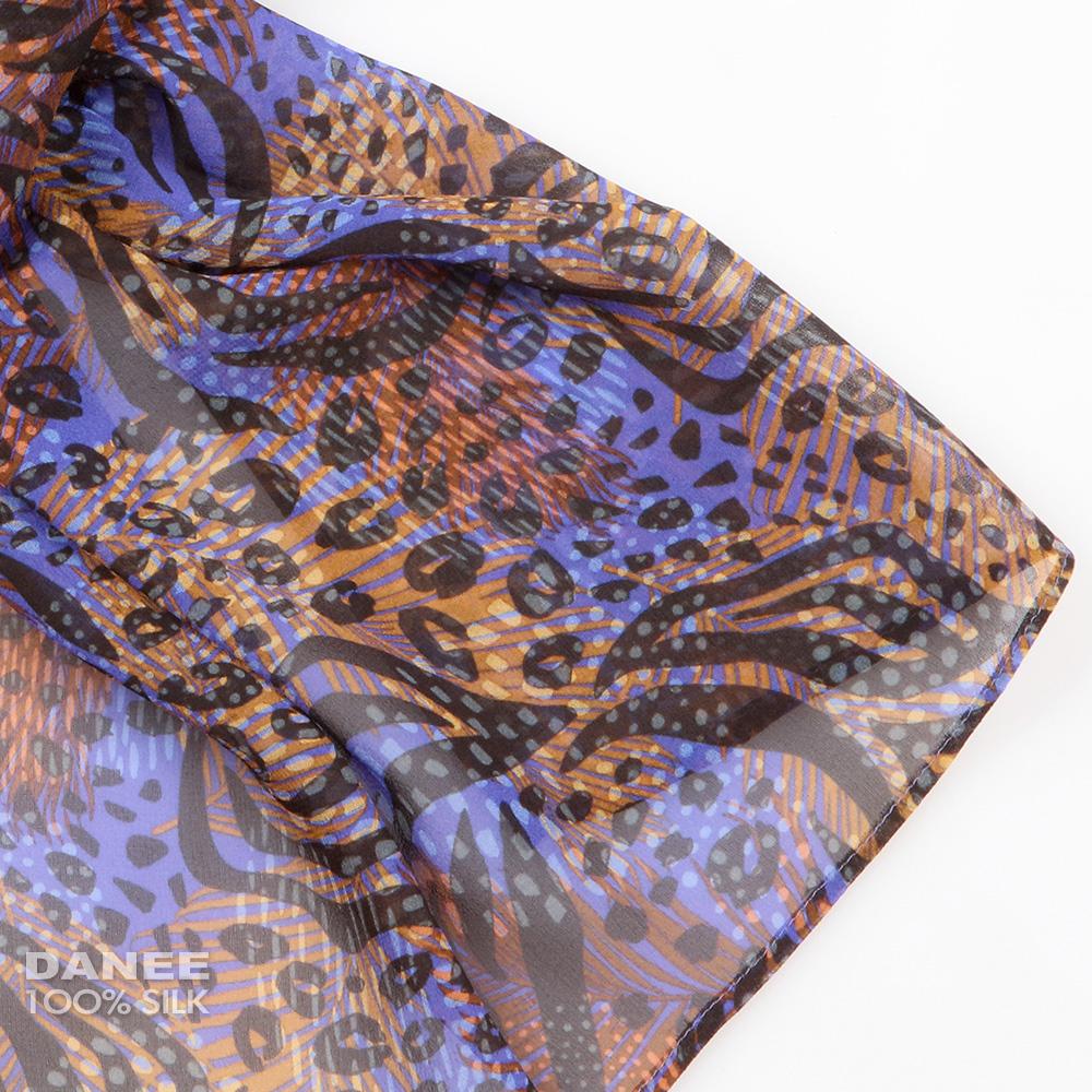 蠶絲絲巾,絲巾,喬其紗