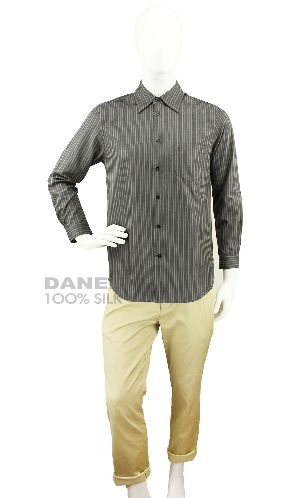 蠶絲上衣,長袖上衣,蠶絲襯衫,男襯衫,長袖襯衫