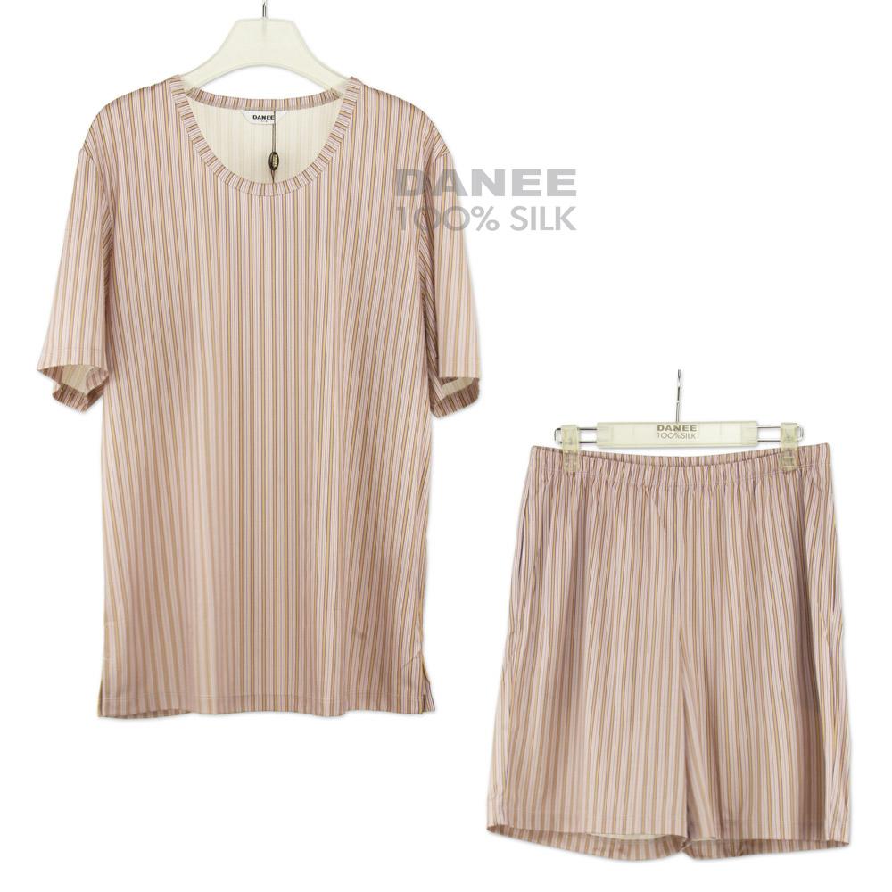 蠶絲上衣,蠶絲短褲,蠶絲休閒服,蠶絲居家服