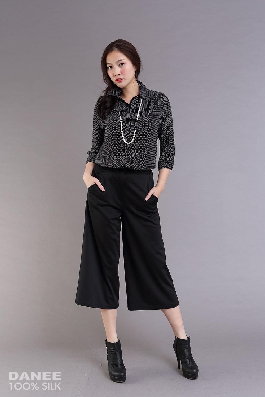 蠶絲褲,褲裙,寬褲,長褲,PK布